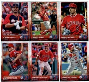different types of baseball cards