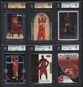 sought after sports cards